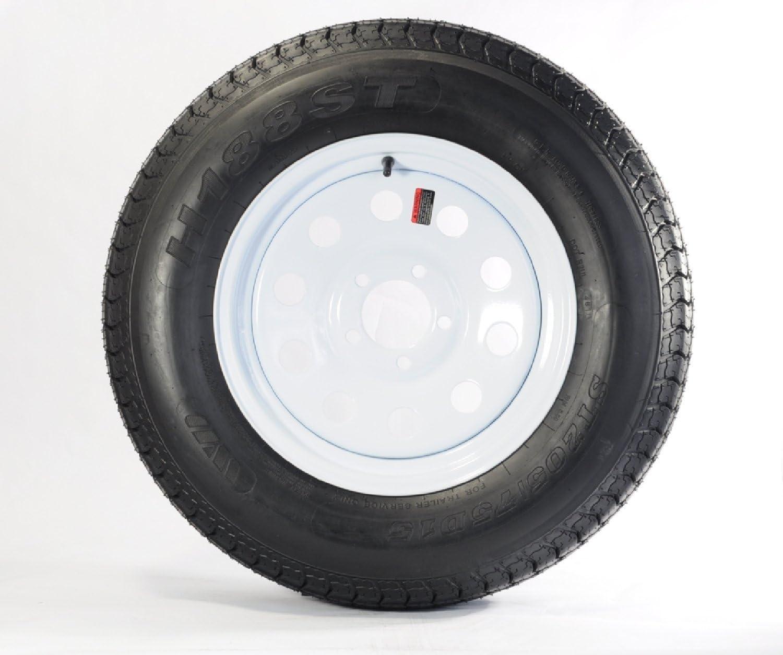 It is very popular shipfree Trailer Tire On Rim ST205 75D14 2057514 Wheel W 5 LRC F78-14 Lug