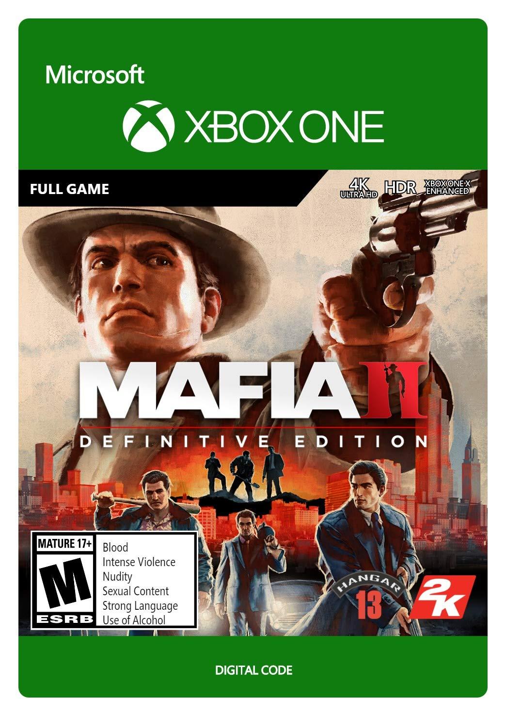 Mafia II Definitive Edition - New item Digital Xbox Code One Import