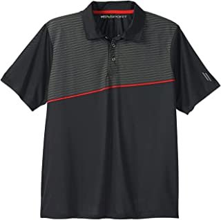 Kingsize Sport Collection Men's Big & Tall Performance Polo