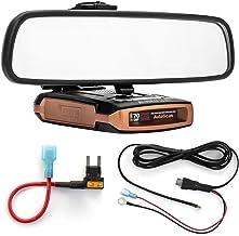 Radar Mount Mirror Mount Bracket + Direct Wire Power Cord + Mini Fuse Tap Beltronics GT-7 (3001402B)