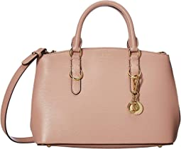 Bennington Saffiano Zipped Satchel