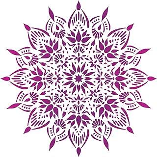 craftstar Indu Mandala plantilla – reutilizable plantilla diseño de medallón, Medium