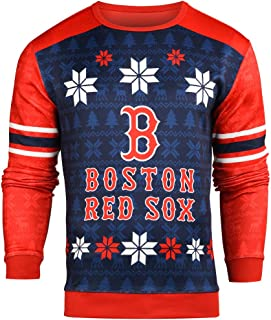 Forever Collectibles MLB Men's Printed Ugly Sweater, Multiple Teams