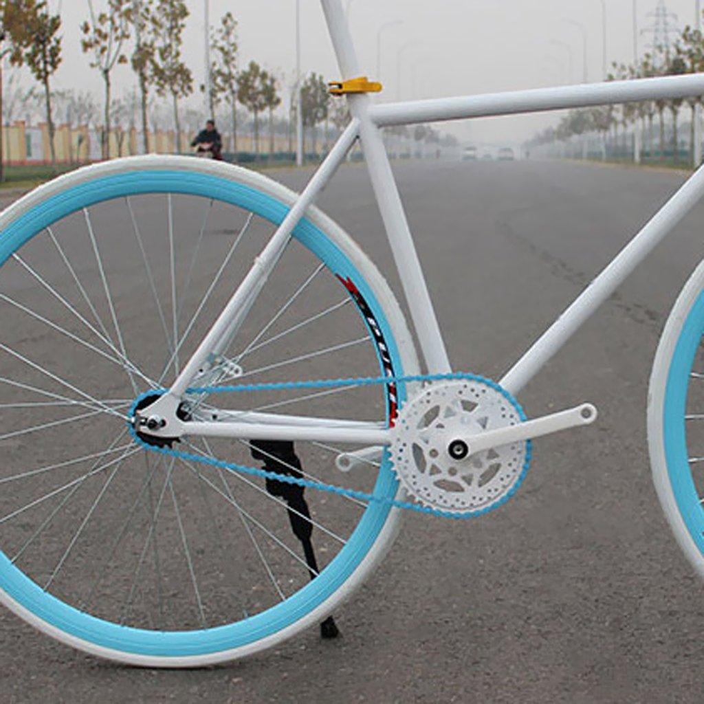 Cadenas Cadena De Bicicleta De Pista BMX Artes Fijos De Una Sola ...