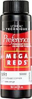 L'Oreal MR1 Light Intense Copper Permanent Hair Color MR1 Light Intense Copper