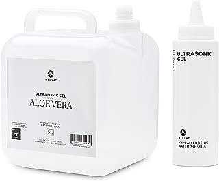 Medvat Clear Transmission Gel - 5 Liter Container - Includes 8-oz. Refillable Bottle