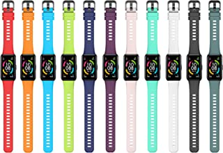 Andoer Silicone Strap Smart Watch Band Replacement Bracelet Strap Adjustable Wristband Belt for Women Men Replacement for ...