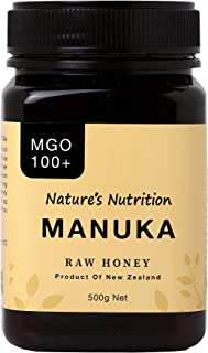 Nature's Nutrition Raw Multifloral Manuka Honey MGO 100g+ 500g