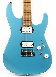 Charvel Pro-Mod DK24 HH 2PT CM Electric Guitar (Matte Blue Frost)