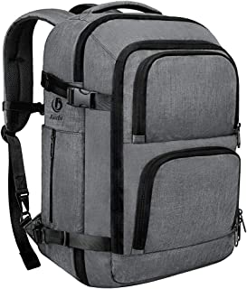 Dinictis 40L Flight Approved Travel Backpack, Waterproof Business Carry on Backpack fit 15.6 Inch Laptop, Durable Weekender Bag for Men and Women (Dark Grey)