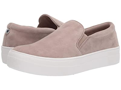 Steve Madden Gills Sneaker (Taupe Suede) Women