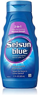 Selsun Blue 2-in-1 Treatment Dandruff Shampoo, 11 oz, 2 pk