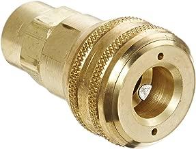 Eaton Hansen 4200 Brass 3000/4000/5000/6000 Series Industrial Interchange, Coupler Socket, 3/8