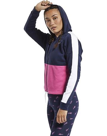 S Felpa Donna Reebok Te Linear Logo FT Fullzip