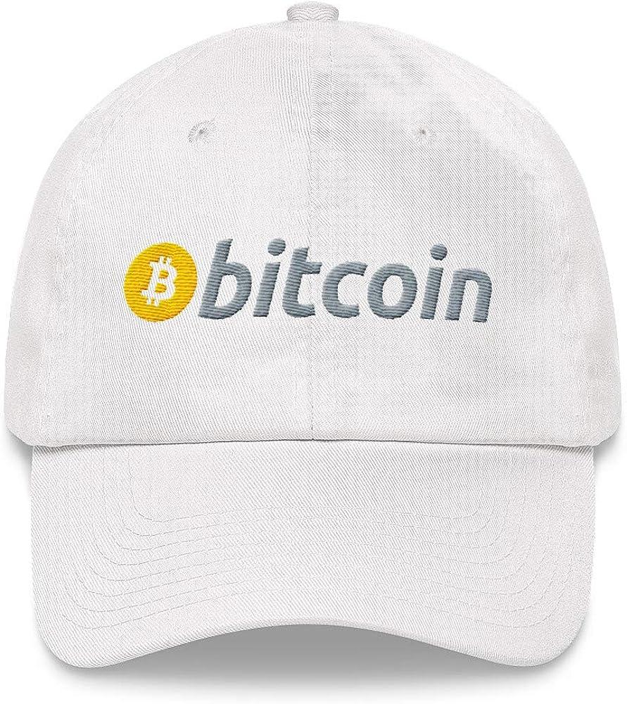 Bitcoin Logo Crypto Lover Embroidered Baseball Cap Dad Hat Sportswear