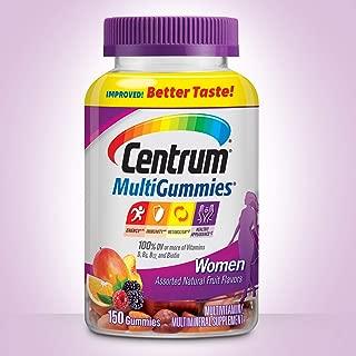 Best centrum women's gummy vitamins Reviews
