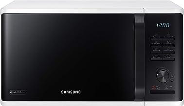 Samsung MW3500K MS2AK3515AW/EG - Microondas (800 W, 23 litros, 48,9 cm de ancho, 29 programas automáticos), color blanco