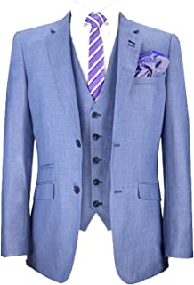 Mens Blazers Waistcoats Trouser 3 Piece Suits by Cavani & Mareno