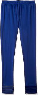 Karigari Women's cotton a line Salwar Suit Set (400021947733_ Ro-Blue_ X-Large)