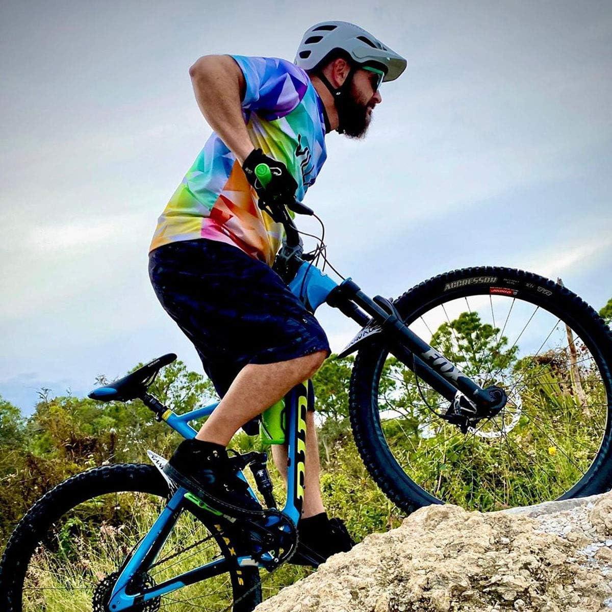 Villain Arrest 1st Offense Bicycle Handlebar Grips for Mountain Bike Enduro Durable Lock-On Bike Grip Trail Trial XC Downhill Ergonomic