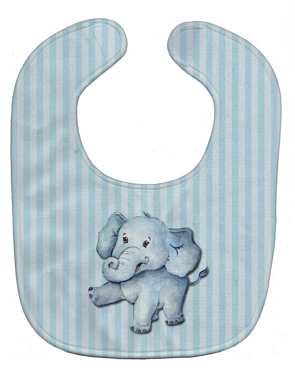 Caroline's Treasures BB7145BIB Elephant Baby Bib, 10 x 13