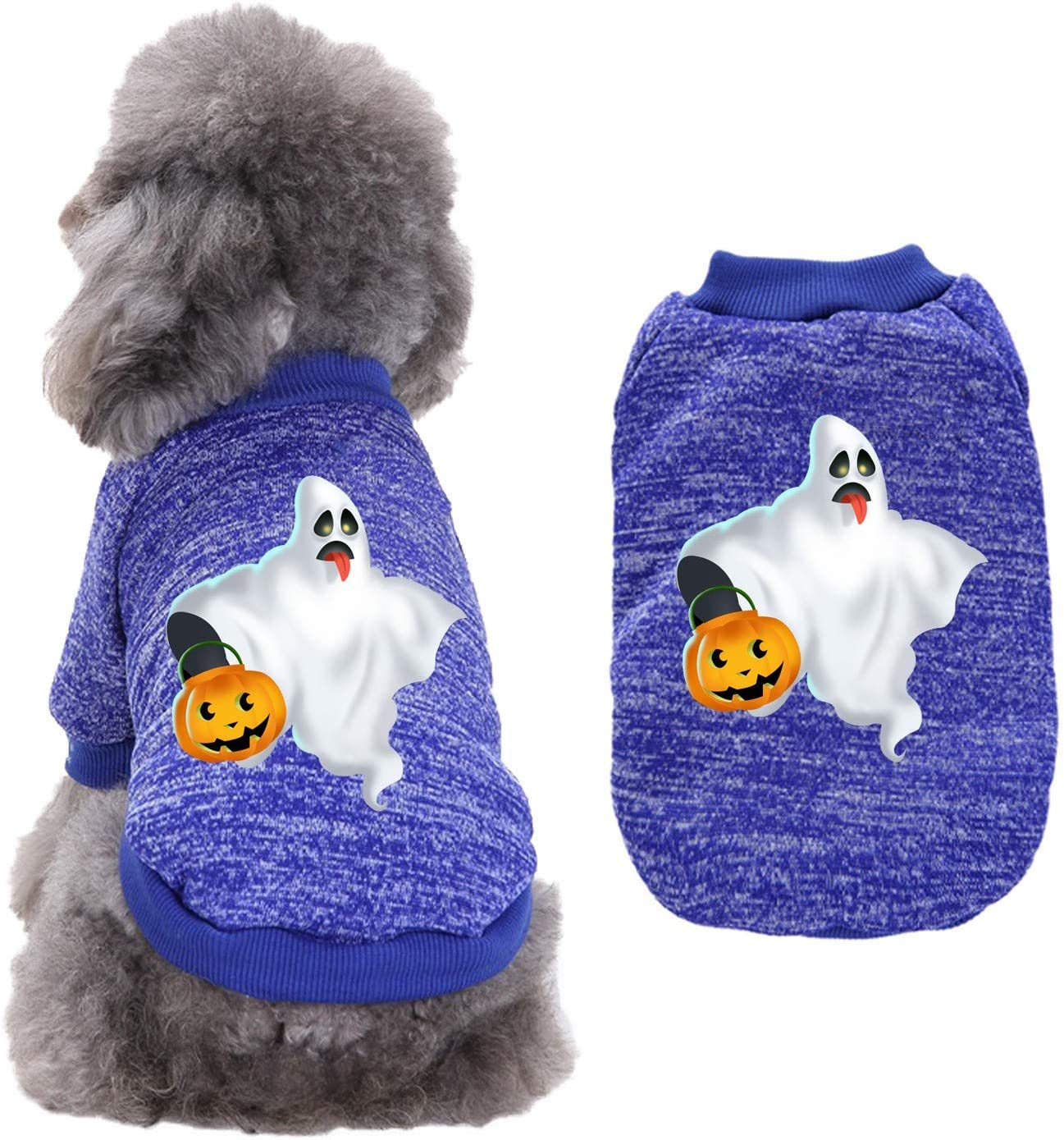 2020 The Inexpensive Newest Halloween Inexpensive Style Pet Dog Warm Clothes Cat Autumn