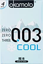 Okamoto 003 Cool Condoms, 4 ct