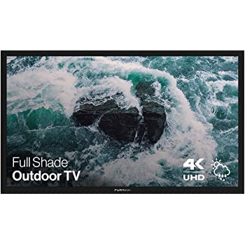Furrion Aurora - Full Shade Series 49-Inch Weatherproof 4K Ultra-High Definition LED Outdoor Television with Auto-Brightness Control for Outdoor Entertainment - FDUF49CBR