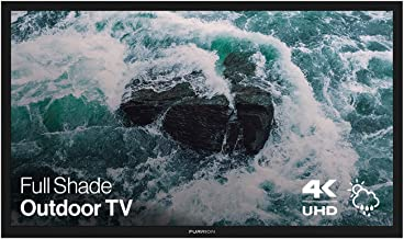 Furrion Aurora - Full Shade Series 49-Inch Weatherproof 4K Ultra-High Definition LED Outdoor Television with Auto-Brightne...