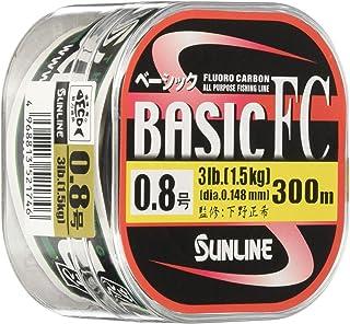 サンライン(SUNLINE) フロロカーボンライン ベーシックFC 透明 300m 3.5号 14lb