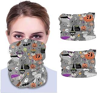 Nother Schnauzer hund halloween läskig hund – grå unisex ansiktsmask vindtät ansikte skydd UV och solskydd variation huvud...