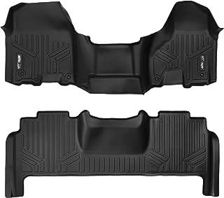 MAXLINER Floor Mats 2 Row Liner Set Black for 2012-2018 Dodge Ram 2500/3500 Mega Cab