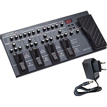 Boss ME-80 - Dispositivo multiefectos e interfaz para guitarra ...
