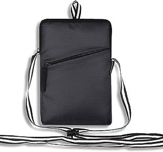 Dein Kleider Nylon Cross Body Travel Mobile Pouch Sling Messenger Bag for Women