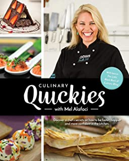 Culinary Quickies recipe cookbook with Mel Alafaci: Vanilla Zulu Cook Book, Food Styling and Presentation Ideas.