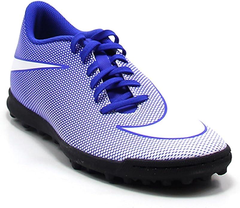 Nike , Chaussures pour Homme spécial Foot en Salle Bleu Bleu ...
