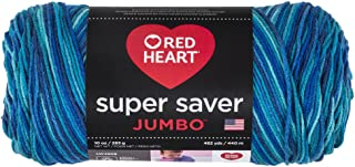 Red Heart Super Saver Jumbo E302C, Macaw