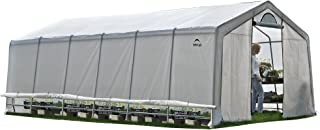 ShelterLogic GrowIT Heavy Duty Walk-Thru Greenhouse, 12 x 24 x 8 ft.
