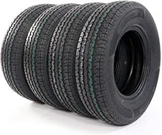 Total of four Radial Trailer Tires ST225-75R-15 Load Range E 2257515 10 Ply Speed Rating/L 225/75r 15 Trailer Tires