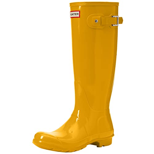 92fbdc1ce Hunter Womens Original Tall Gloss Rain Boots