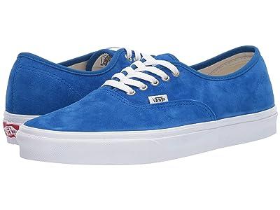 Vans Authentictm ((Pig Suede) Princess Blue/True White) Skate Shoes