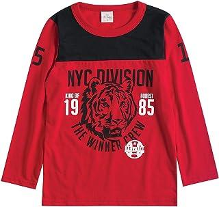 e3f915a6e Moda - Vermelho - Camisetas   Blusas e Camisetas na Amazon.com.br