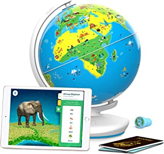 Kidsworld- Educational Augmented Reality Based Globe For Kids 4-10 Years (Multicolor)-Educational Toys-Interactive Globe-A...