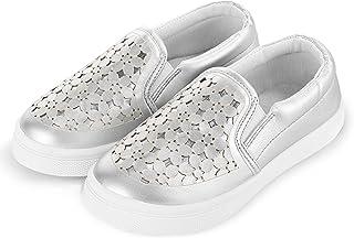 حذاء رياضي Josiny للأطفال والبنات الأولاد كاجوال بدون كعب سهل الارتداء - حذاء أطفال كسول