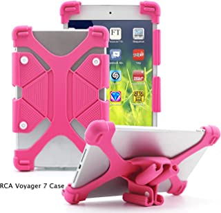 EAGWELL RCA Voyager 7 Case, Shockproof Silicone Case Cover Fits All Versions RCA Voyager 7