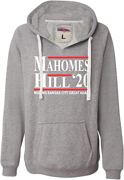 Go All Out Womens Kansas City is Mahomes Glitter Hoodie