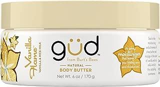 Gud  Vanilla Flame  Natural Body Butter, 6 Ounces