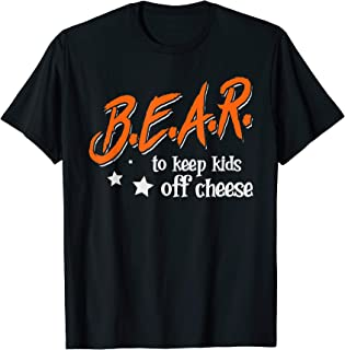 Chicago Football Shirt B.E.A.R. off the CHEESE Funny DARE T-Shirt