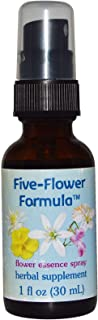 Flower Essence Services Healing Herbs Five-Flower Formula Spray, 1 Ounce