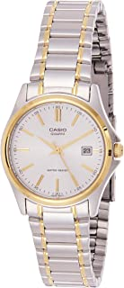 Casio Women's Silver Dial Stainless Steel Analog Watch - LTP-1183G-7ADF